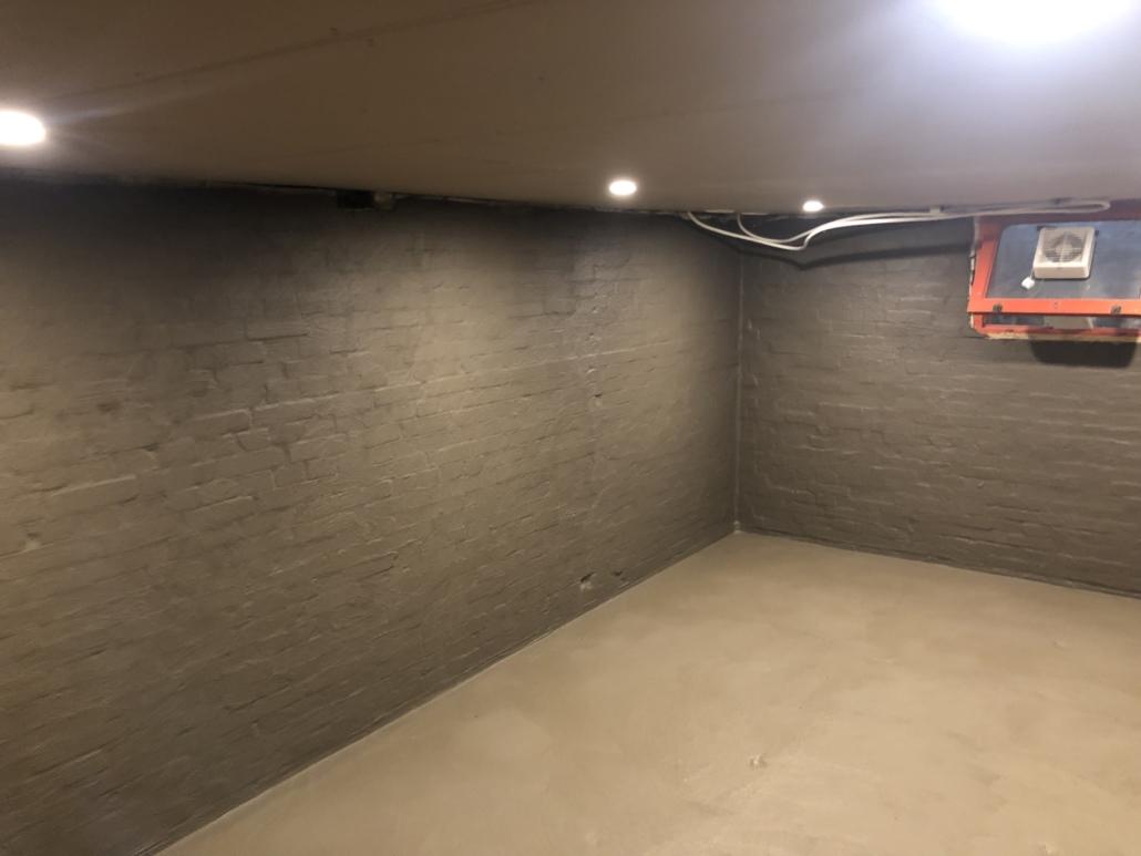 Kelder waterdicht aan de binnenkant
